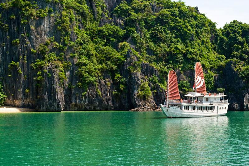 Revel in the exotic magic of Halong Bay and beyond
